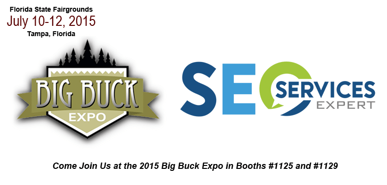 Kansas City SEO Exhibitor at the Big Buck Expo 2015